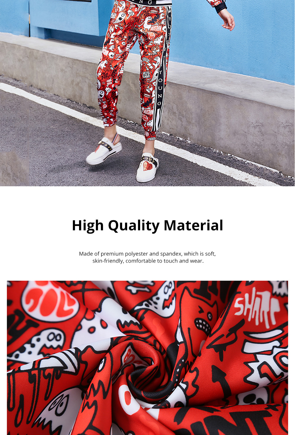 Women's Tracksuit with Vibrant Color 2 Piece Sets Casual Hoodie Suit with Close-Up Sleeve and Leg Openings 3