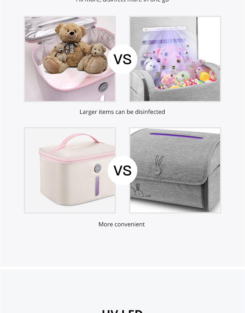 59 Second Sterilizer Household Baby Sterilizer Baby Toy Bottle Sterilizer UV Sterilizer 3
