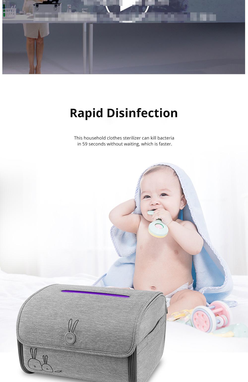 59 Second Sterilizer Household Baby Sterilizer Baby Toy Bottle Sterilizer UV Sterilizer 5
