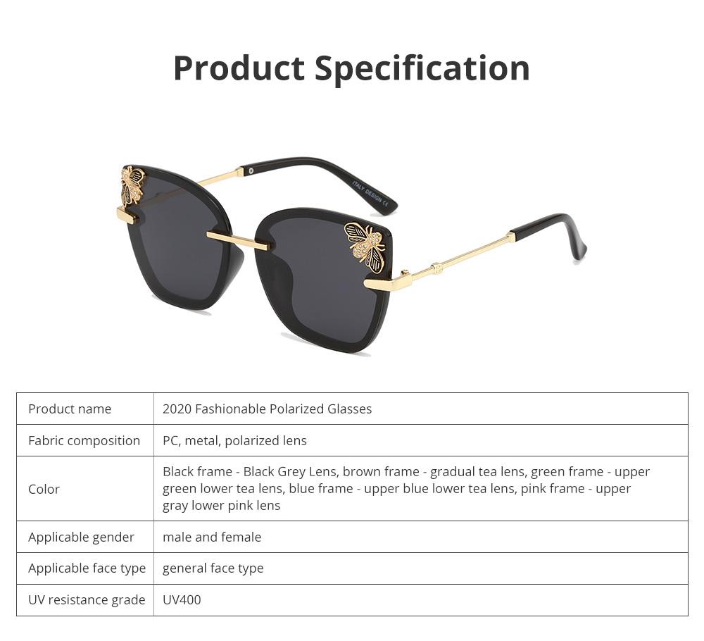 2020 New Fashionable Polarized Glasses Sunglasses for Women's Drivers Gradient Sunglasses 5