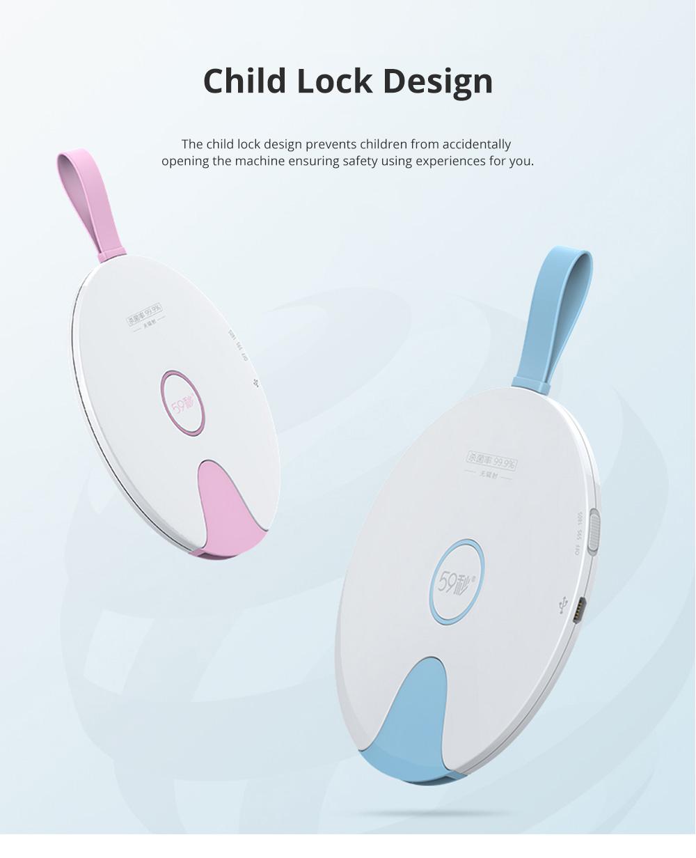 Portable Professional Quick Ultraviolet Ray Disinfectant Machine Bowls Chopsticks Phone Sterilizer 7