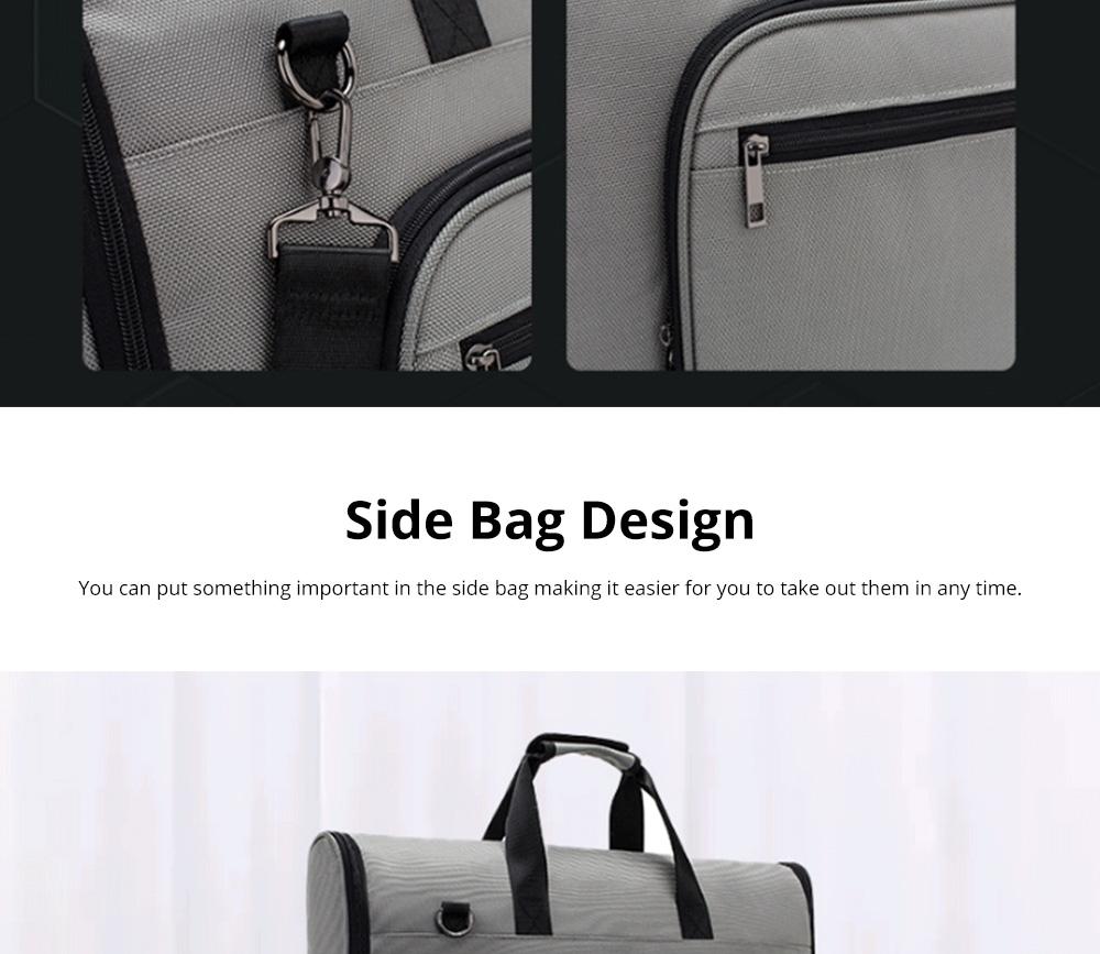 Multifunctional Large Capacity Waterproof Business Suit Dust Cover Storage Bag Handbag Traveling Storage Bag 10