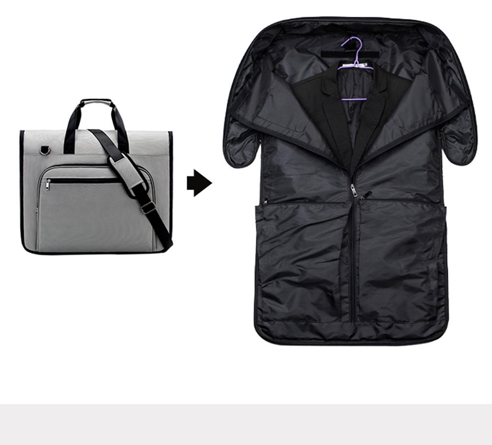 Multifunctional Large Capacity Waterproof Business Suit Dust Cover Storage Bag Handbag Traveling Storage Bag 4