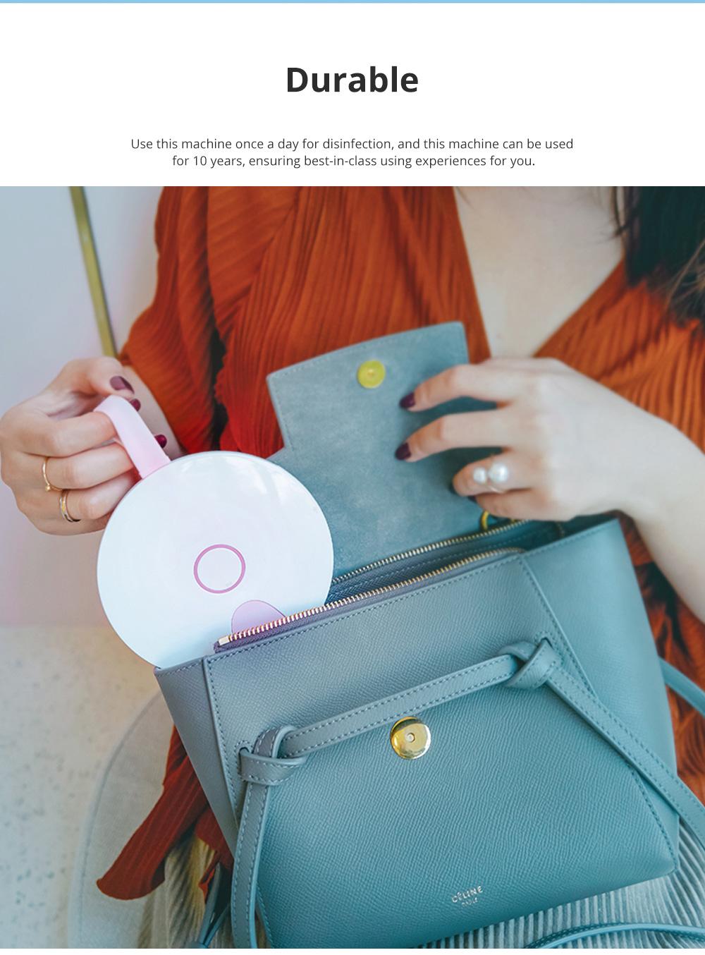 Portable Professional Quick Ultraviolet Ray Disinfectant Machine Bowls Chopsticks Phone Sterilizer 5
