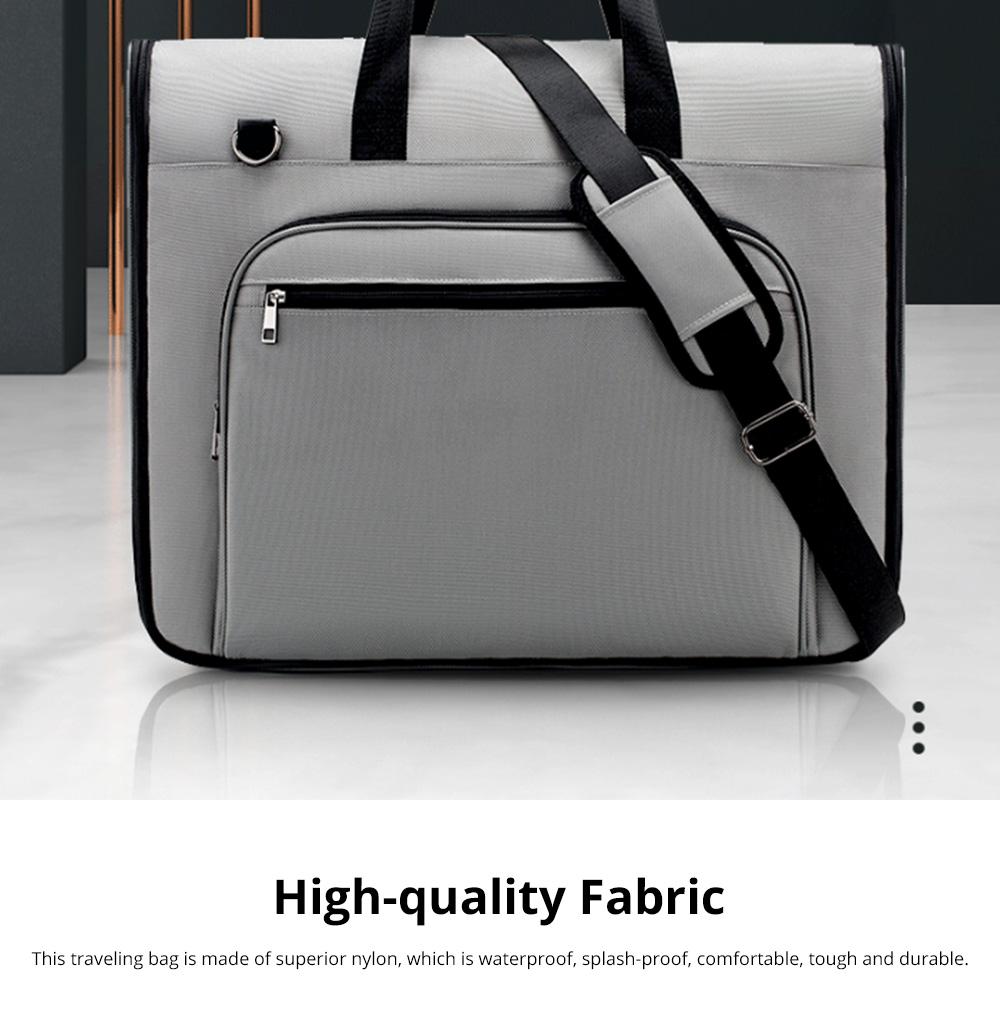 Multifunctional Large Capacity Waterproof Business Suit Dust Cover Storage Bag Handbag Traveling Storage Bag 1