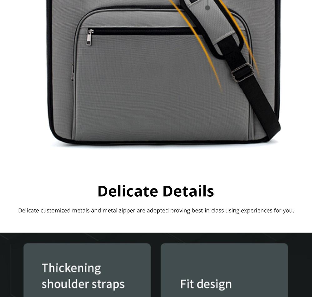 Multifunctional Large Capacity Waterproof Business Suit Dust Cover Storage Bag Handbag Traveling Storage Bag 8