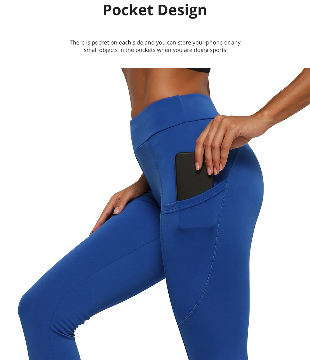 Minimalist Fashionable Functional Fit Slim Yoga Exercise Sports Leggings Tights Capris with Pocket for Women Ladies 4