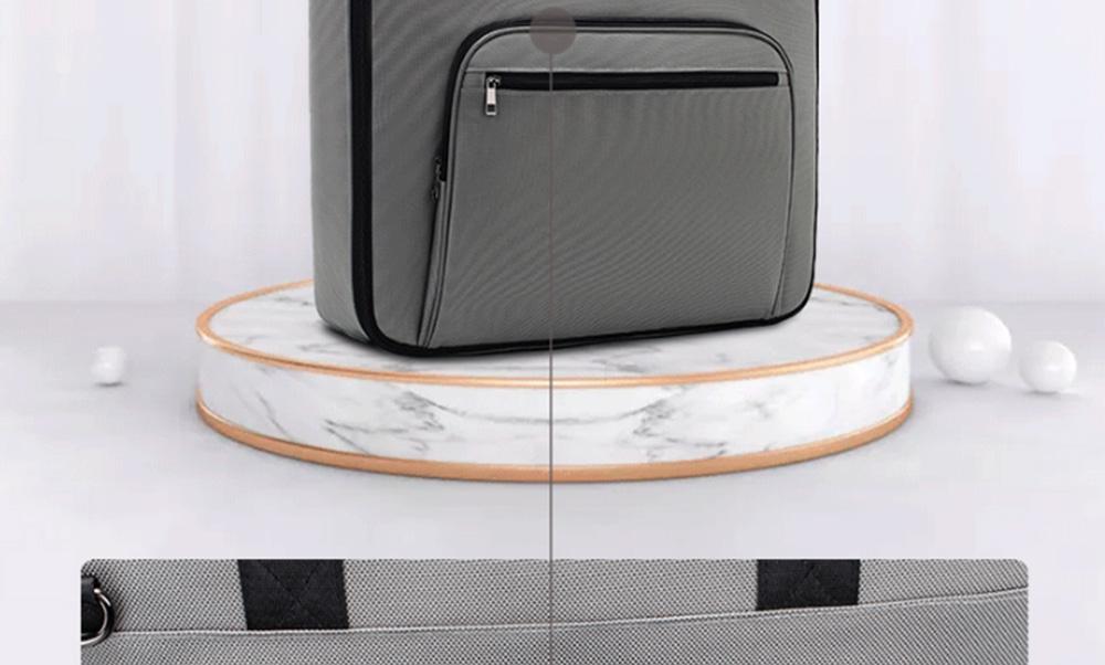 Multifunctional Large Capacity Waterproof Business Suit Dust Cover Storage Bag Handbag Traveling Storage Bag 11