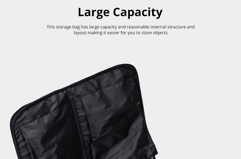 Multifunctional Large Capacity Waterproof Business Suit Dust Cover Storage Bag Handbag Traveling Storage Bag 5