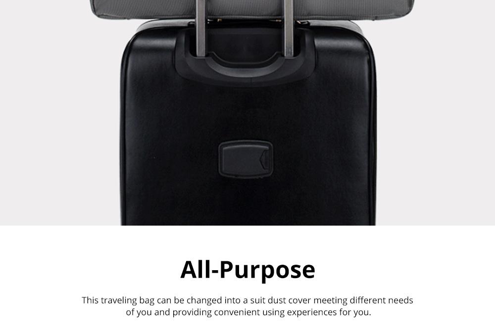 Multifunctional Large Capacity Waterproof Business Suit Dust Cover Storage Bag Handbag Traveling Storage Bag 3