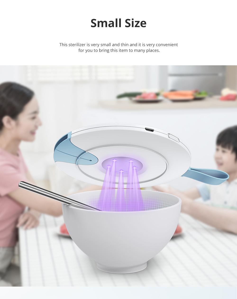 Portable Professional Quick Ultraviolet Ray Disinfectant Machine Bowls Chopsticks Phone Sterilizer 6
