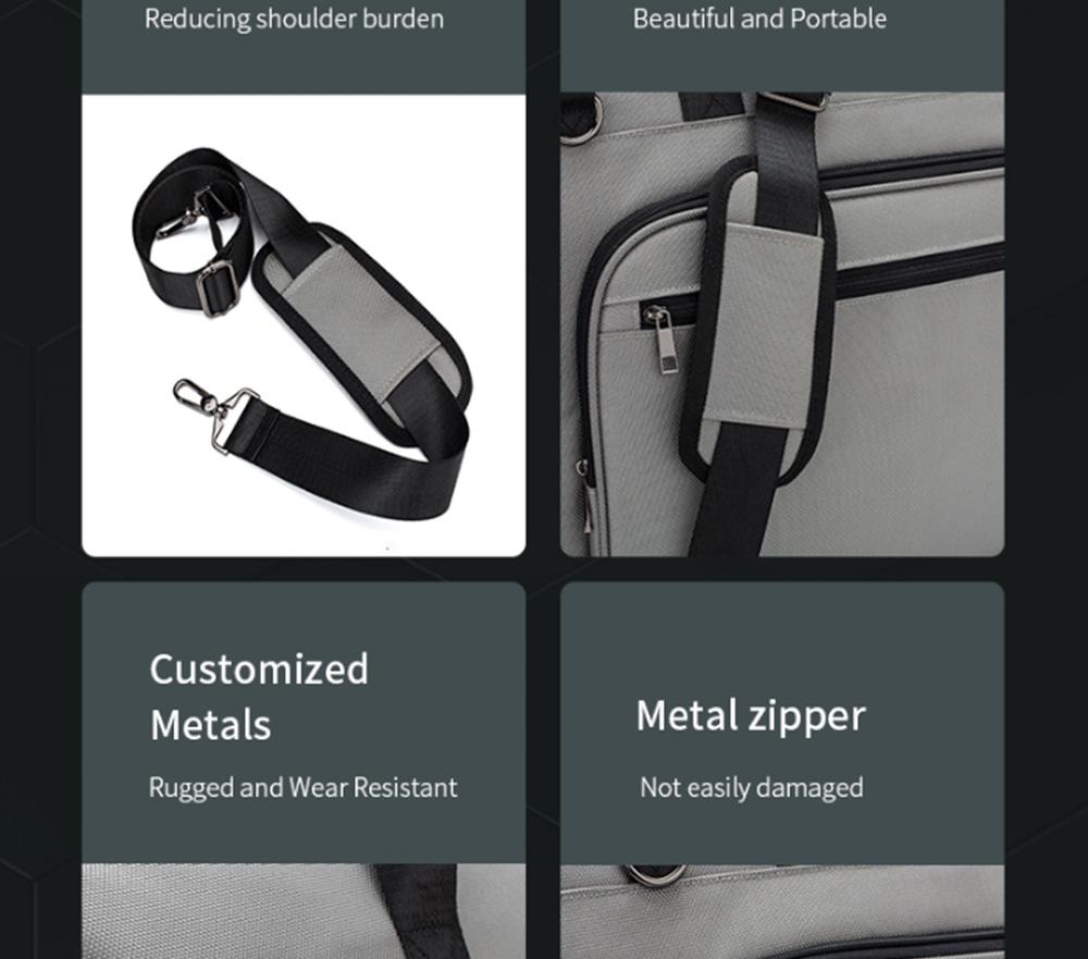 Multifunctional Large Capacity Waterproof Business Suit Dust Cover Storage Bag Handbag Traveling Storage Bag 9