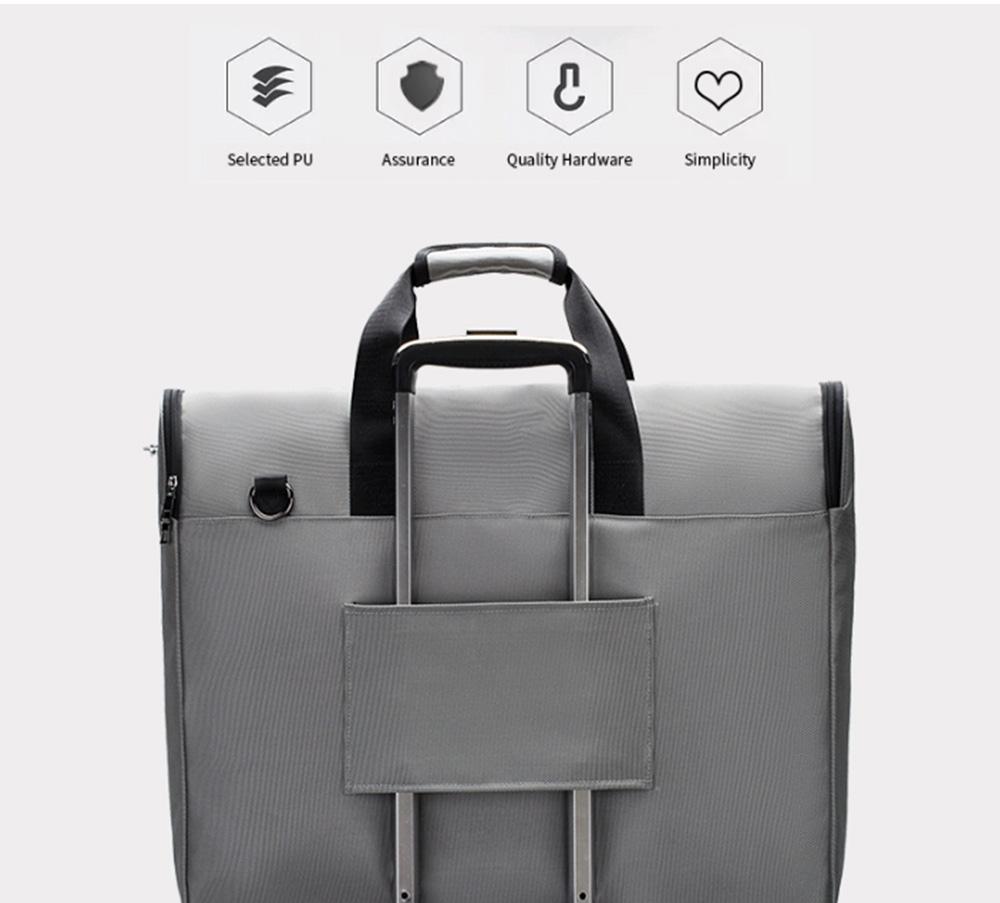 Multifunctional Large Capacity Waterproof Business Suit Dust Cover Storage Bag Handbag Traveling Storage Bag 2