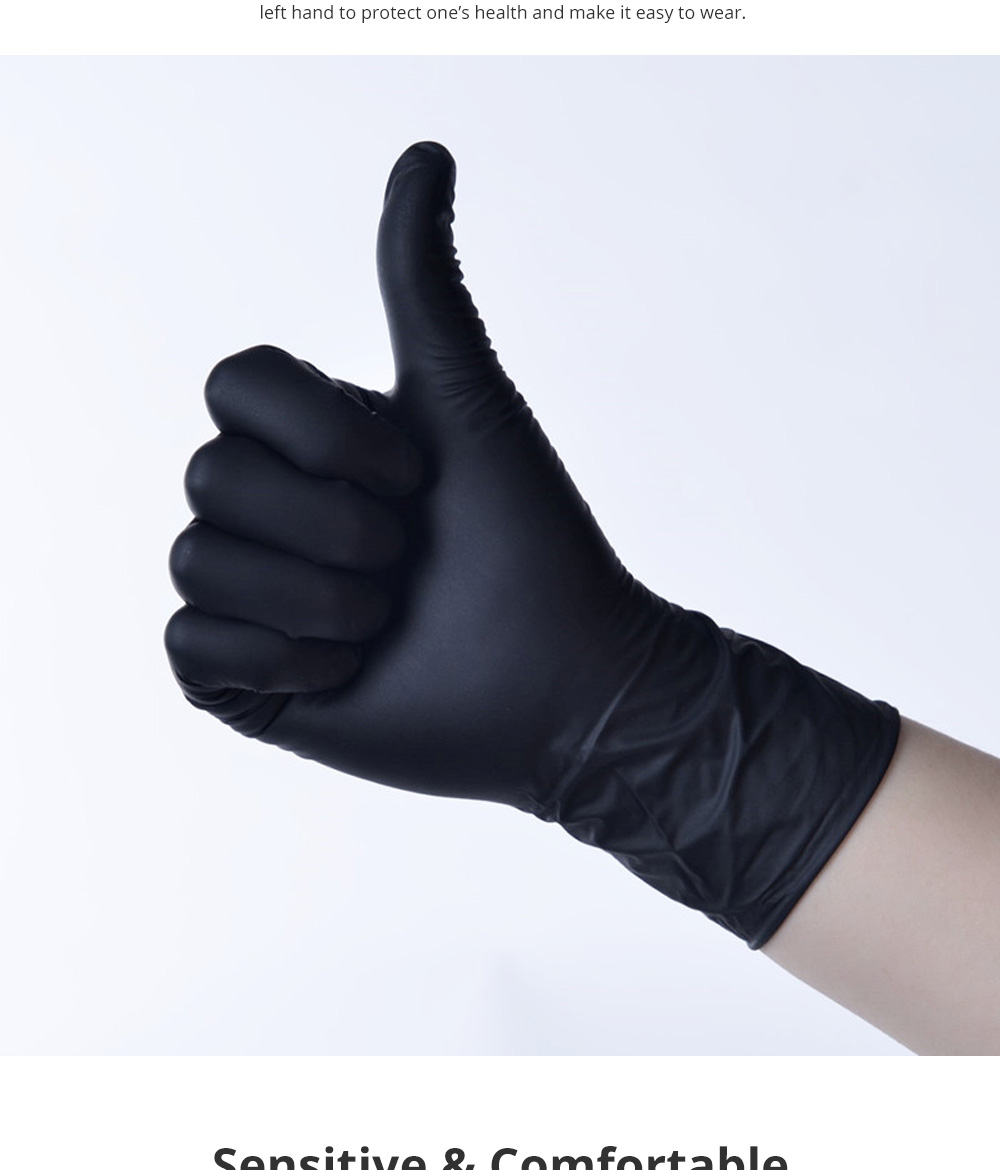 Disposable PVC Gloves for Baking Dish Washing Durable Food Grade Silicone Gloves Sensitive Touching Feel Gloves 100pcs 4