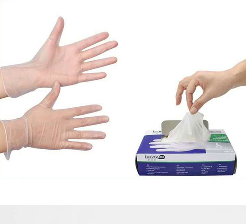 Disposable Gloves Powder Free Food Grade Gloves Kitchen and Food Safe Cleaning Supplies 0