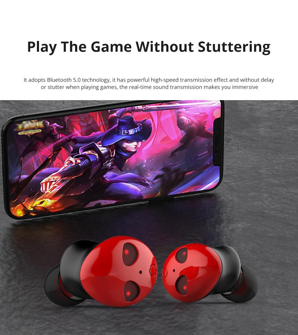 Alien Smart Touch Unique Cavity Structure Mini In Ear Earpiece Hands Free Wireless Bluetooths Earphone Earbuds For Gaming 1