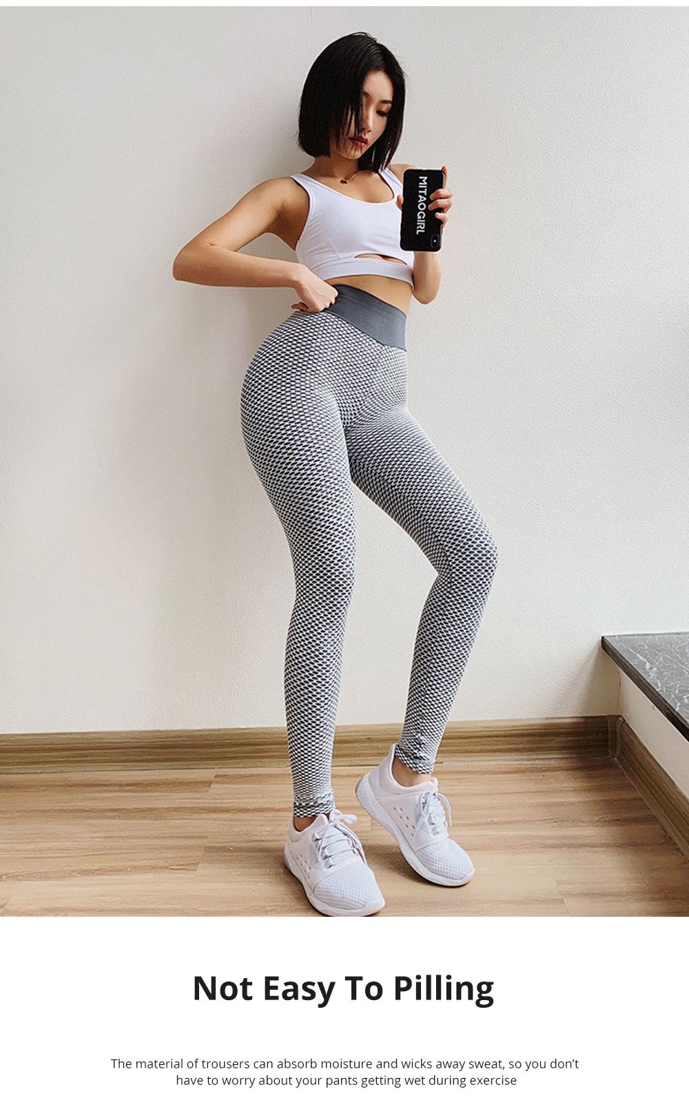 Women Wearing Tight Yoga Pants Fitness Seamless High Quality Workout Leggings High Waist Stretch Sports Yoga Pants 5
