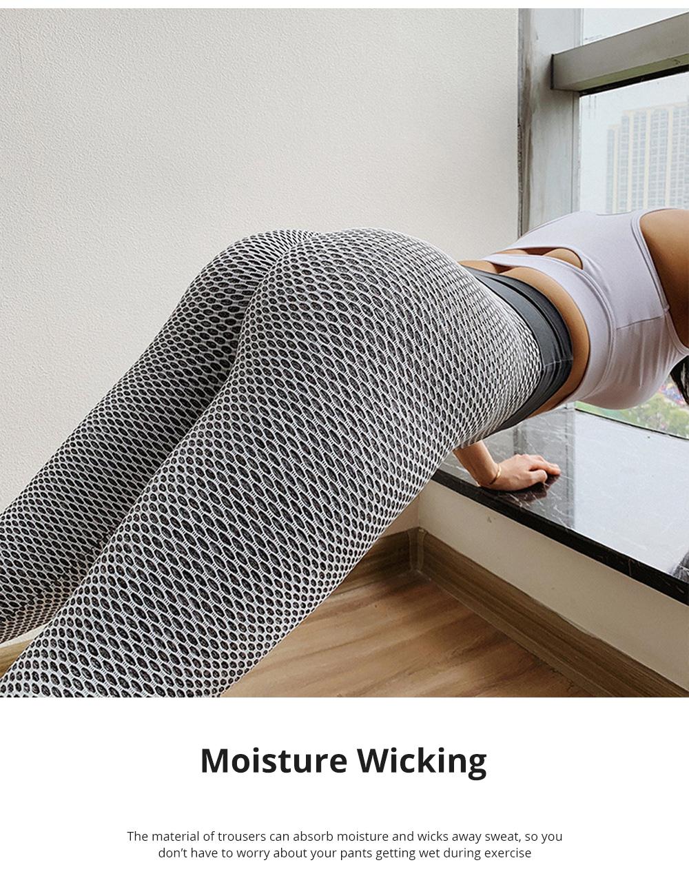Women Wearing Tight Yoga Pants Fitness Seamless High Quality Workout Leggings High Waist Stretch Sports Yoga Pants 4