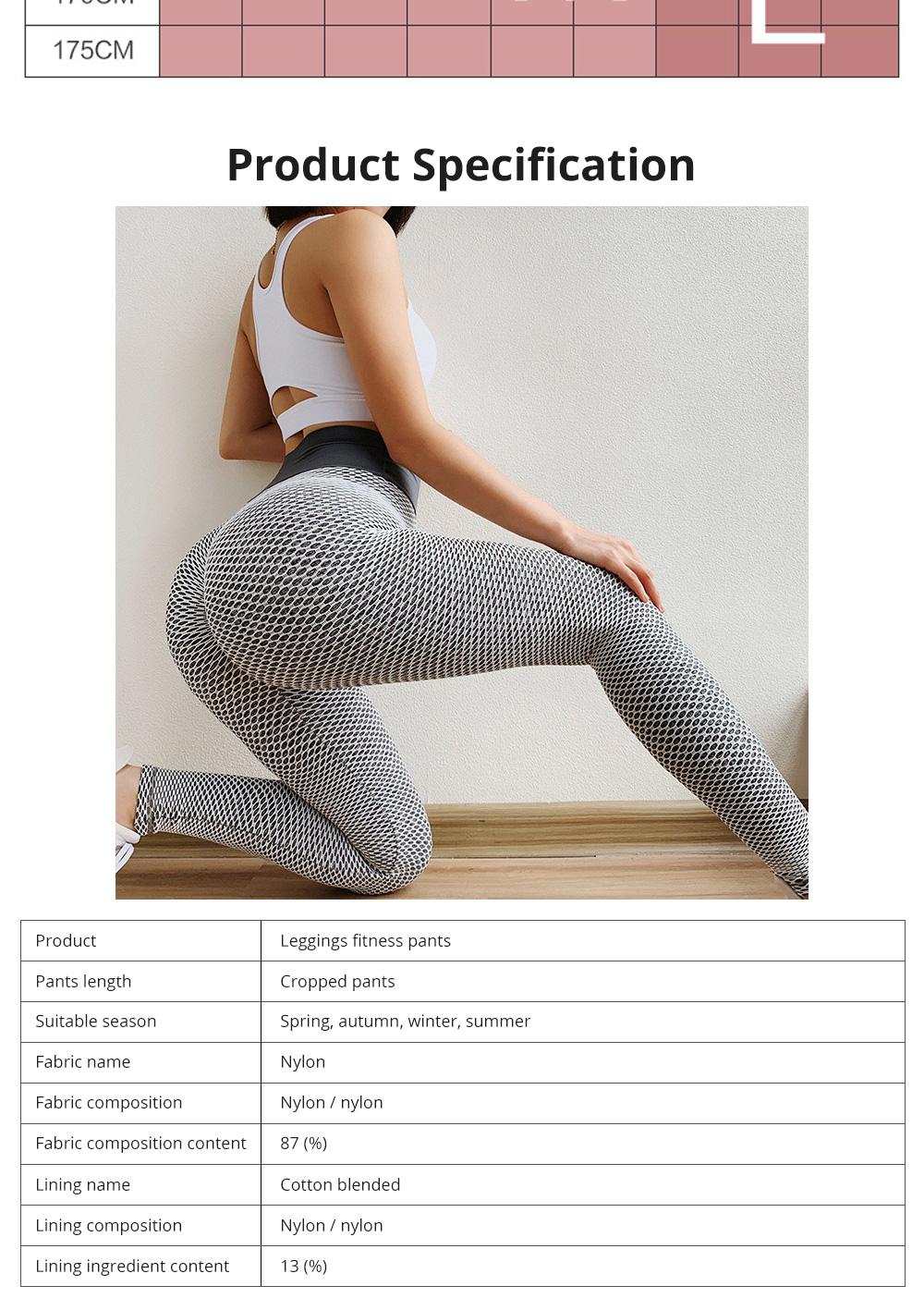 Women Wearing Tight Yoga Pants Fitness Seamless High Quality Workout Leggings High Waist Stretch Sports Yoga Pants 8
