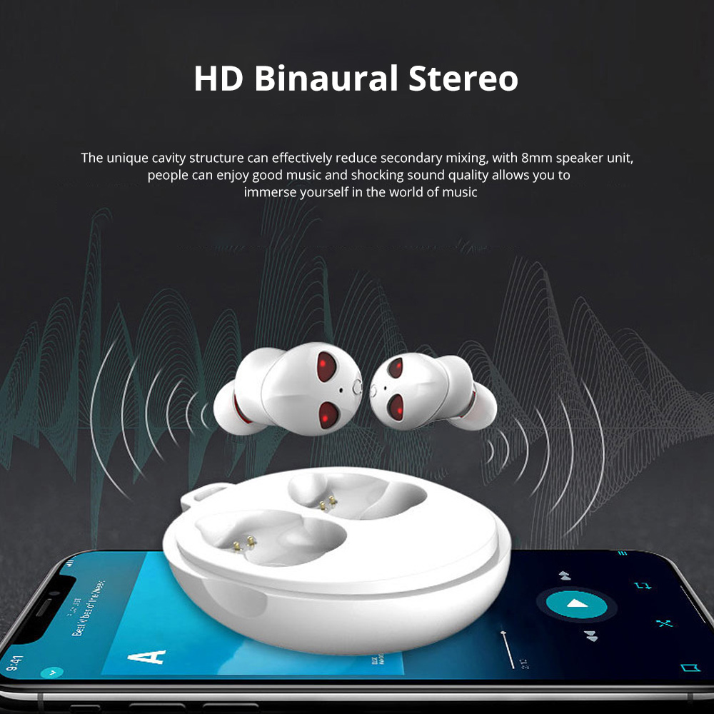 Alien Smart Touch Unique Cavity Structure Mini In Ear Earpiece Hands Free Wireless Bluetooths Earphone Earbuds For Gaming 2