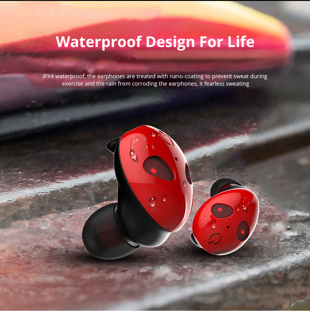Alien Smart Touch Unique Cavity Structure Mini In Ear Earpiece Hands Free Wireless Bluetooths Earphone Earbuds For Gaming 3