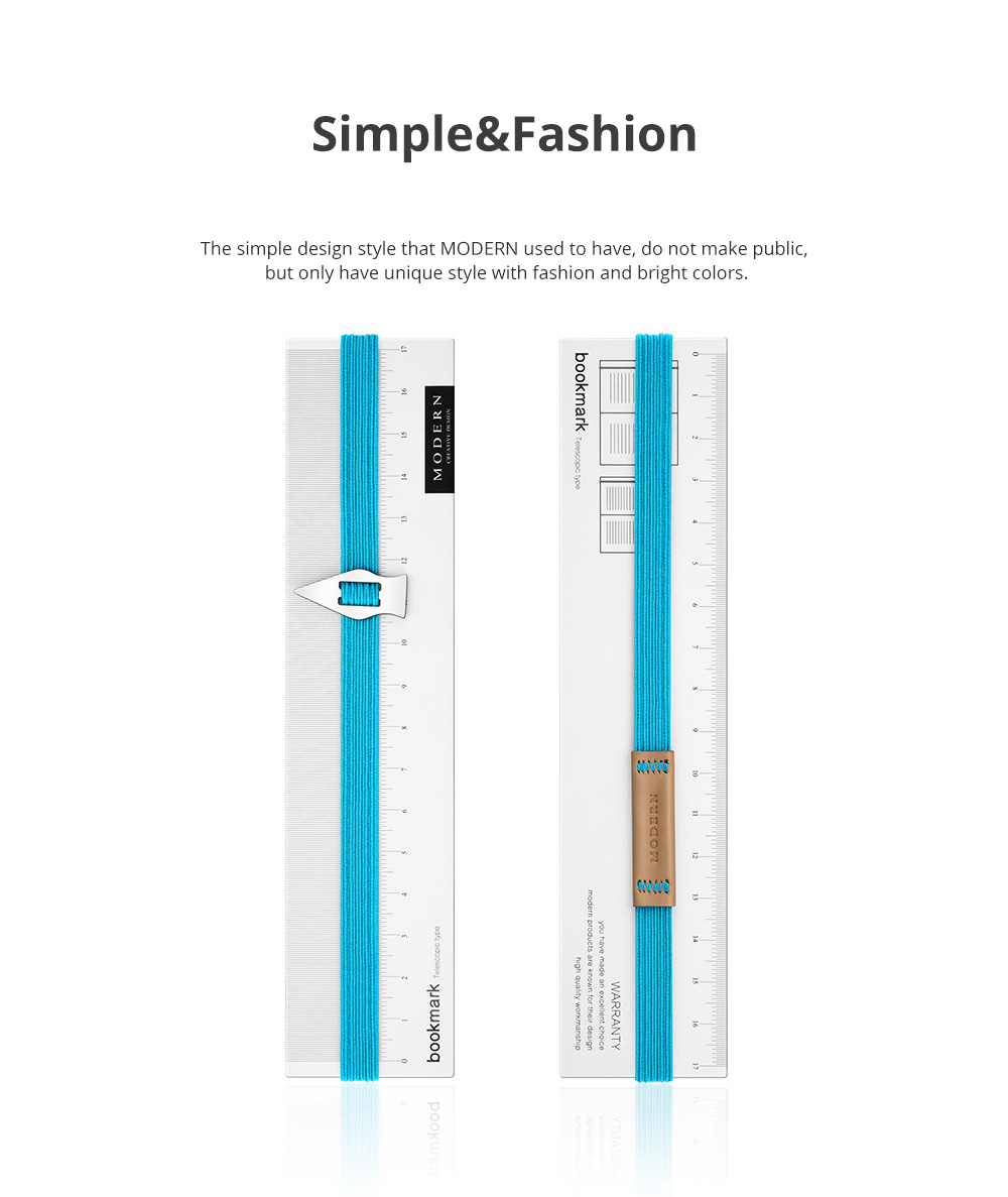 Reusable Arrow Bookmark with High Elastic Strap and Precise Navigation for School Supplies Stationery 2pcs 4