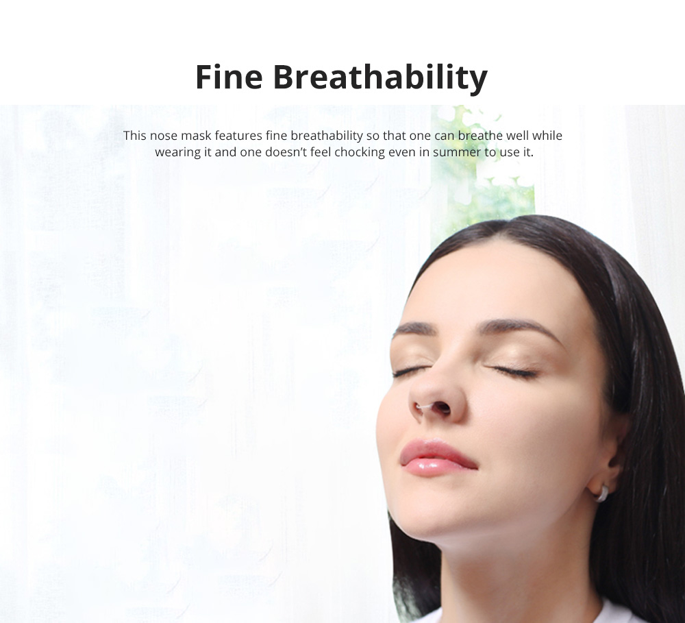 Invisible KN90 Nose Mask for Outdoors Sports Activities Breathable Anti-dust Nasal Mask Allergy Free Sports Nose Mask 2