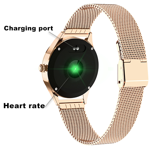 Charging port and Heart rate