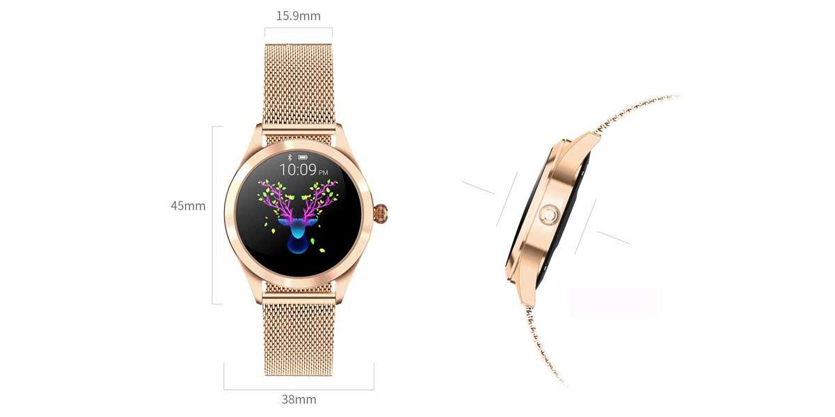 smartwatch size