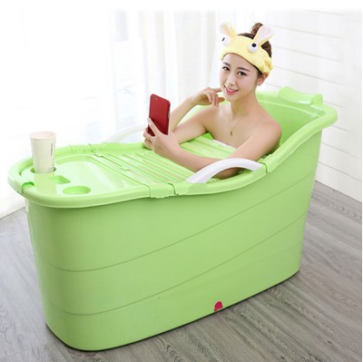 Foldable portable bathtub