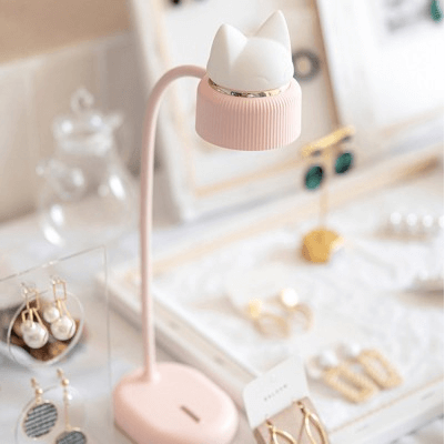 Cute cat shape desktop lamp