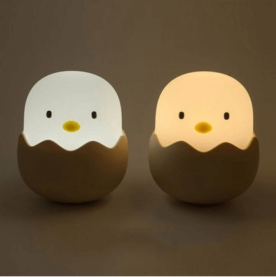 Rechargeable Eggshell Chick LED Night Light