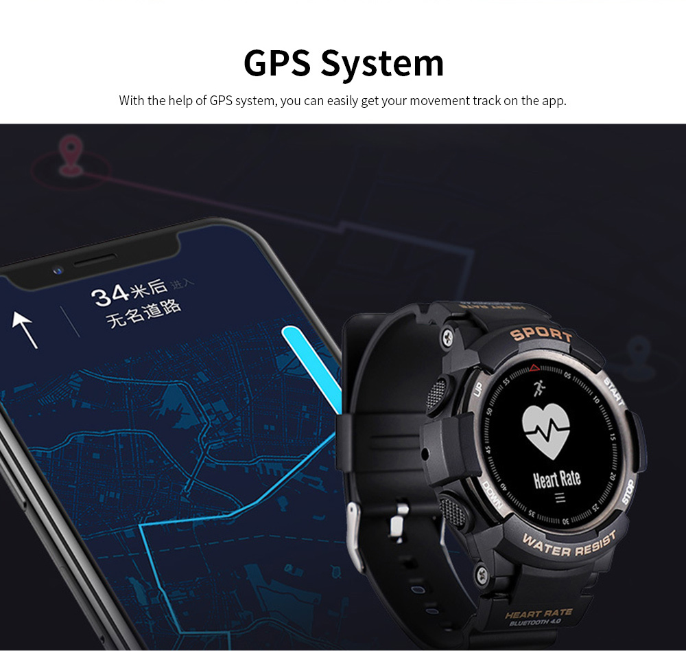 Latest Smart Watch 2019 With Bluetooth function For Android and IOS, Support for Movement and Heart Rate Measurement 4