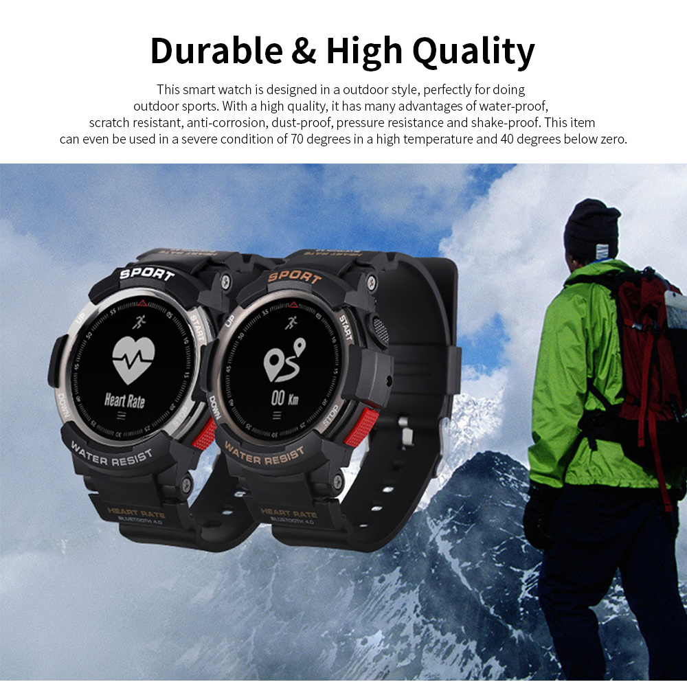 Latest Smart Watch 2019 With Bluetooth function For Android and IOS, Support for Movement and Heart Rate Measurement 1