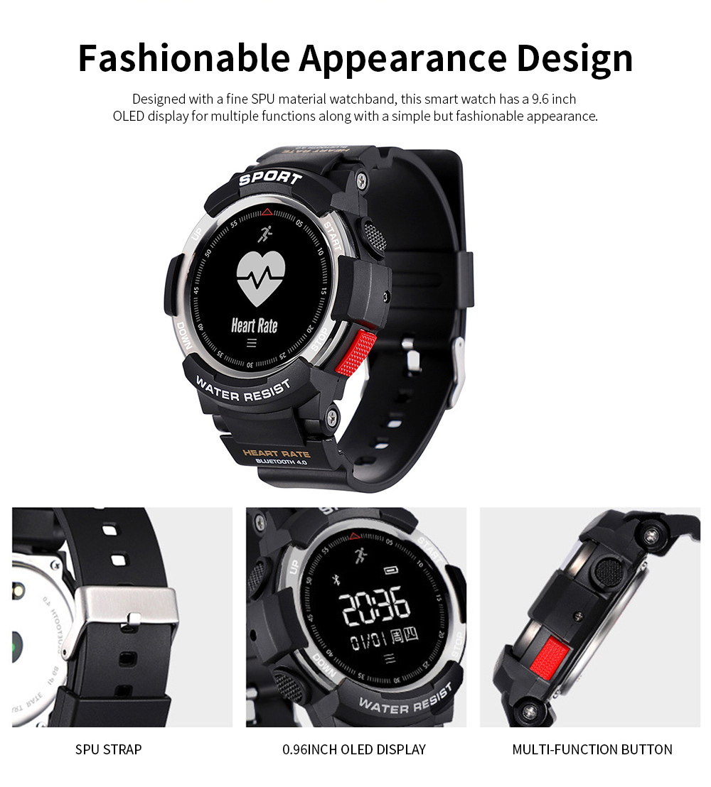 Latest Smart Watch 2019 With Bluetooth function For Android and IOS, Support for Movement and Heart Rate Measurement 2
