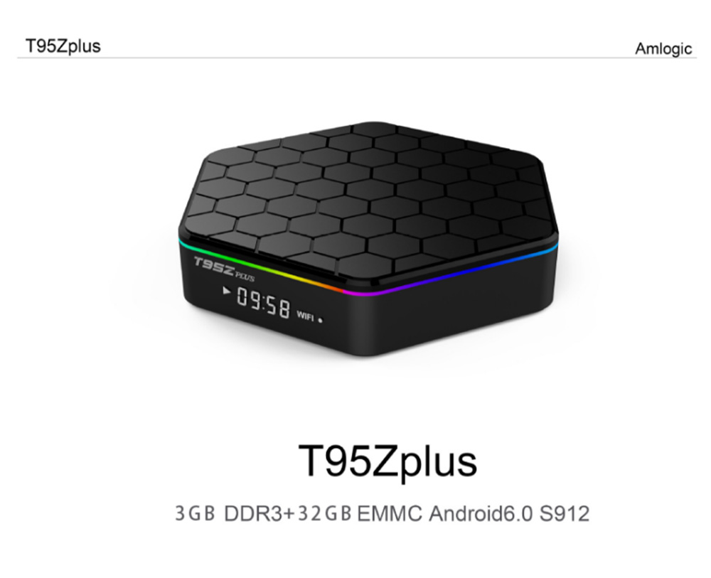 T95Z Plus Android 7.1 Tv Box Amlogic S912 3GB 32GB Ultimate Set-top Box with 2.4G+5G WiFi 1000MLAN HD 4k Player 11