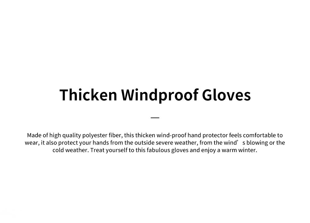Naturehike GL04 Touch Screen Wind-proof Rain-proof Outdoor Warm Gloves High Quality Velvet Thicken Hand Protectors for Men and Women 0