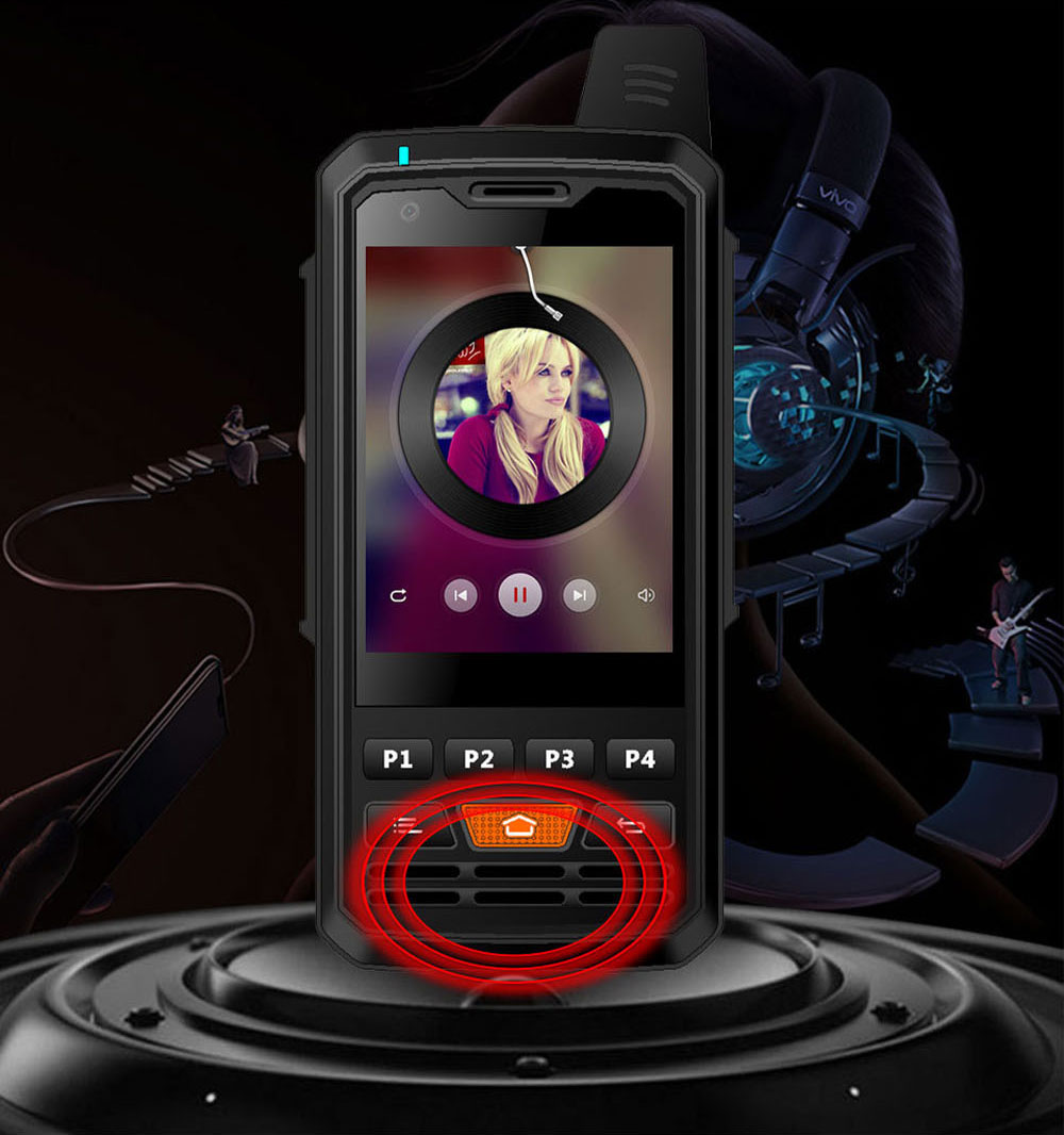 4G PPT Smart Interphone Zella Intercom Phone Device Android 6.0 Available for 2G, 3G, 4G and WIFI Connection 9