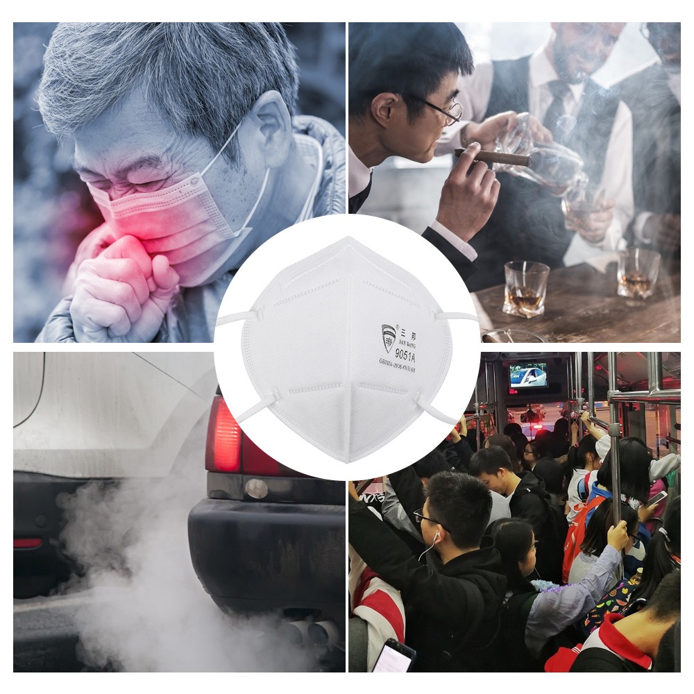 50pcs Face Mask Respirator KN95 Anti-Dust Breathable Protective Mask with N95 Filter 0