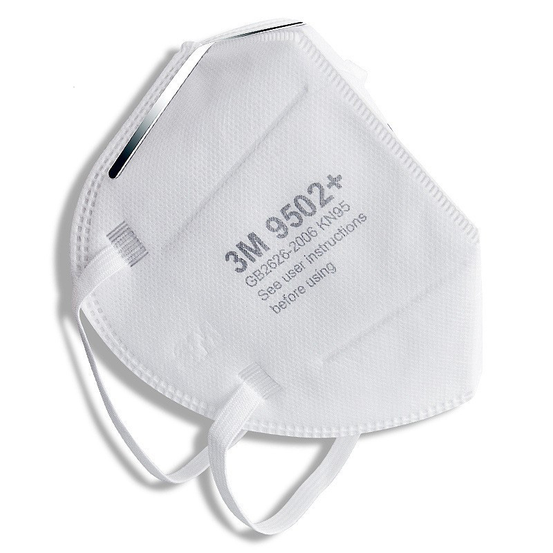 3M 9502+ KN95 Particulate Respirators Headband Type Face Mask PM2.5 Protective Dust Masks 0