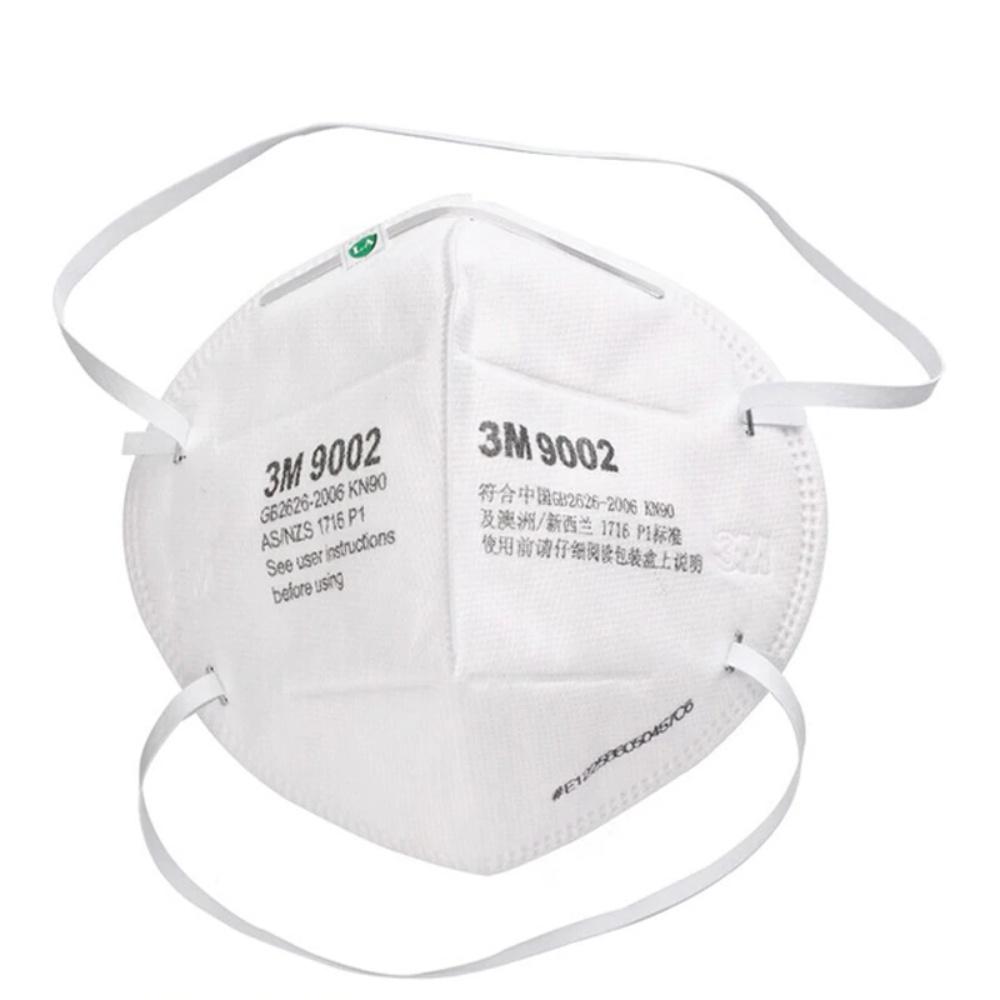 3M 9002 Particulate Respirator KN90 Headband Face Masks 50Pcs 2