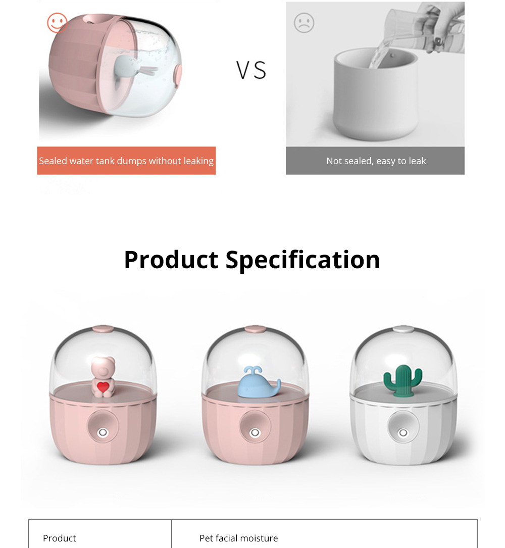 Nano Pet Facial Mister Moisture Atomization For Eyelash Extensions Portable Nanometer Face Hydration Sprayer With USB Rechargeable 17
