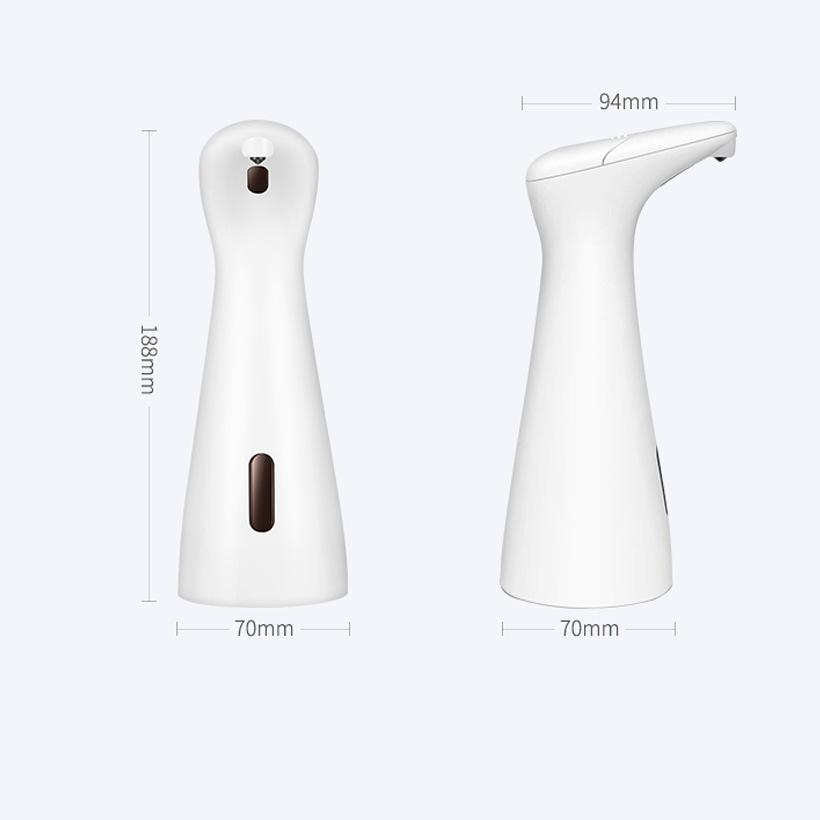 Fully Automatic Sensor Soap Dispenser Patented Hand Sanitizer Machine Infrared Sensor 400ml 2