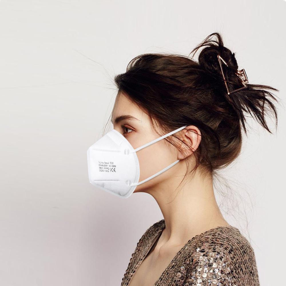 Virtu Health TH Folding Safety Masks FFP2 Particulate Respirator Mask EN149 3
