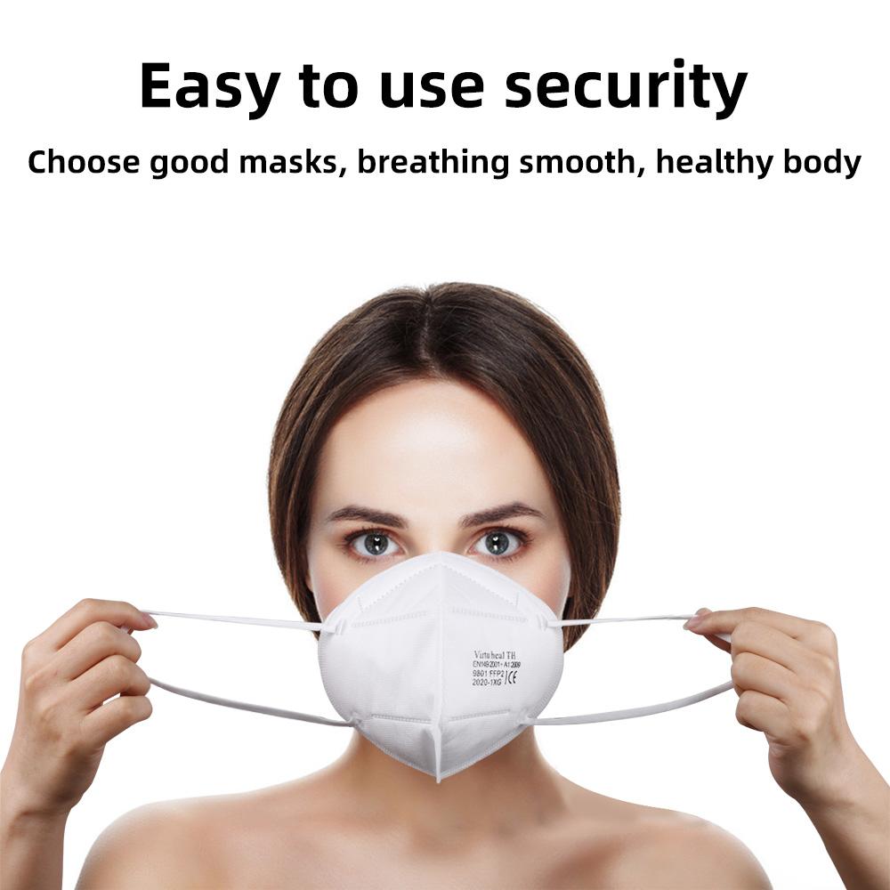 Virtu Health TH Folding Safety Masks FFP2 Particulate Respirator Mask EN149 2