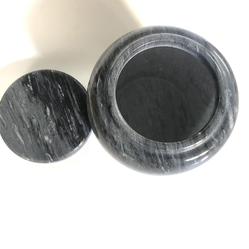 Durable Ashes Pot Ashes Cup Marble Cup Marble Ashes Cup for Sacrifices 1