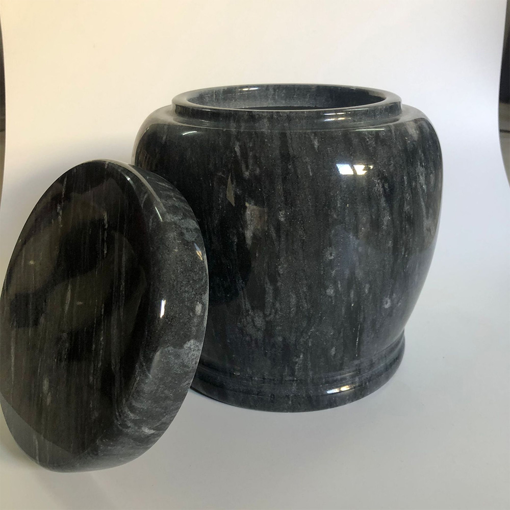 Durable Ashes Pot Ashes Cup Marble Cup Marble Ashes Cup for Sacrifices 2