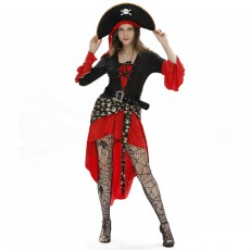 Women's Halloween Sexy Pirate Costume Cosplay role playing uniform