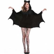 Halloween women's Batman costume Cosplay role play sexy Vampire Lady Oversize