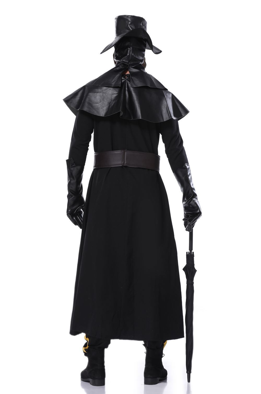 Halloween Cosplay plague beak doctor costume dark hero costume Venice carnival dress up 2